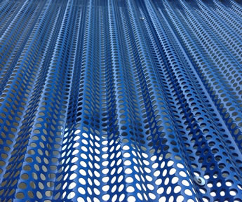 Perforated Corrugated Sheet For Sound Absorption