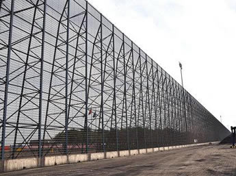 Windbreak Panel Wall For Coal Mine And Thermal Power Plant